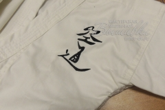 вышивка на детском кимоно