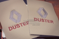 вышивка на коже кожзаме эко коже рено дастер renault duster