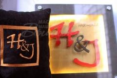 подушка с вышивкой Hair and Jazz