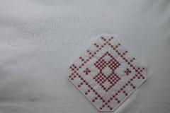 нашивка с вышивкой крестиком