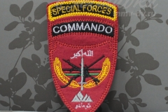 нашивка с вышивкой special forces commando