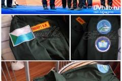 подарок губернатору куртка с нашивками студотряд