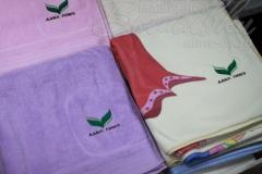 вышивка на полотенцах дабл ливз