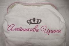 именная вышивка на махровом халате (4)