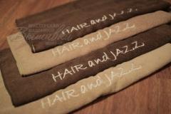 полотенца с вышивкой Hair and Jazz
