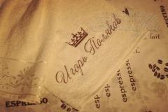 полотенце с вышивкой Игорь Поляков