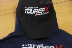 вышивка на кепках автоклуб таурер autoclub tourer