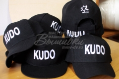 вышивка на кепках кудо kudo